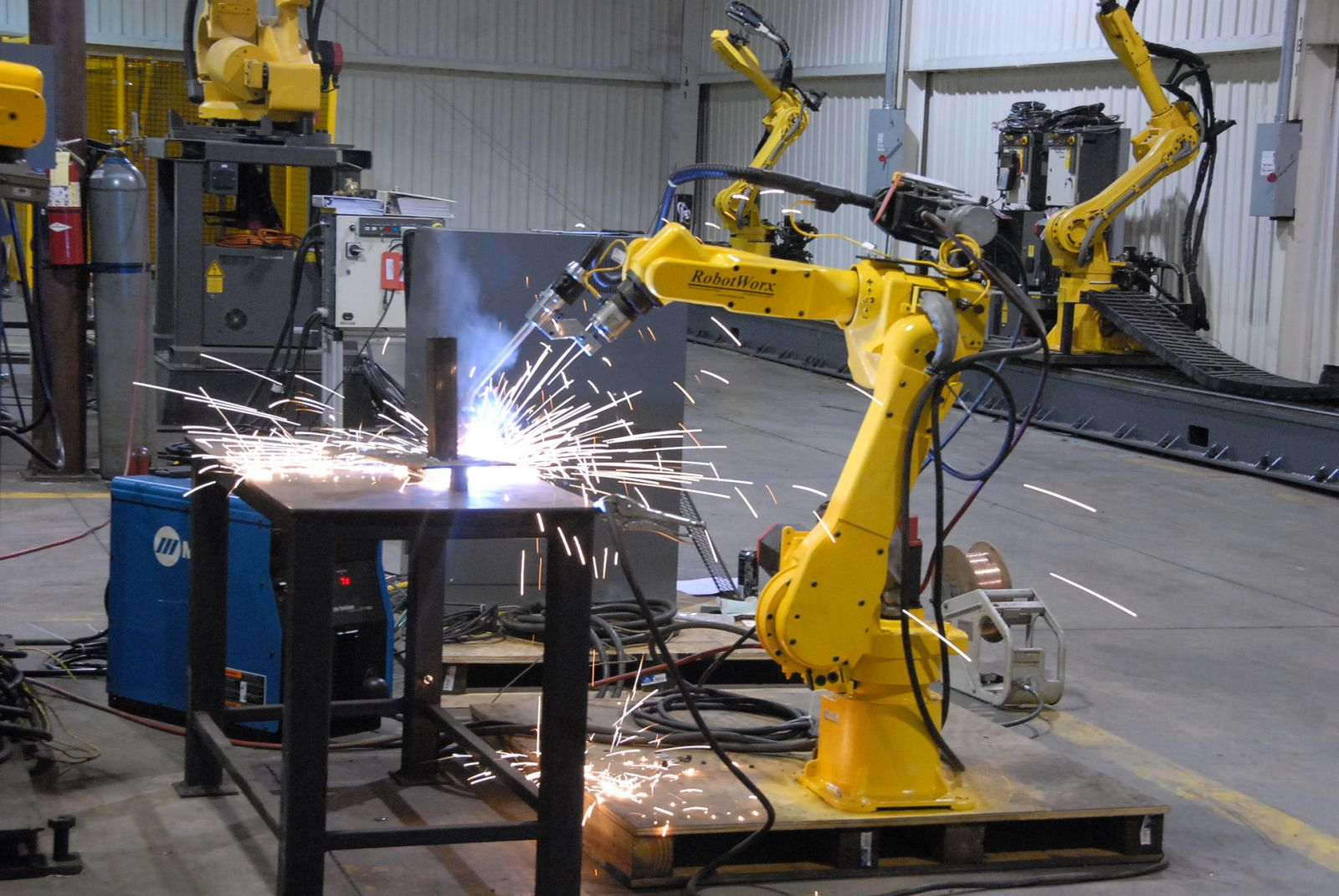 An Industrial Robot Appeared At The Kharkiv Plant The